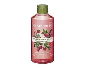 ▼▼ครีมอาบน้ำ Yves Rocher Energizing Raspberry Peppermint Shower Gel▲▲