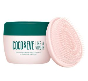 ▼▼ทรีทเมนท์ผม COCO & EVE Like A Virgin Super Nourishing Coconut & Fig Hair Masque And Tangle Tamer Set▲▲